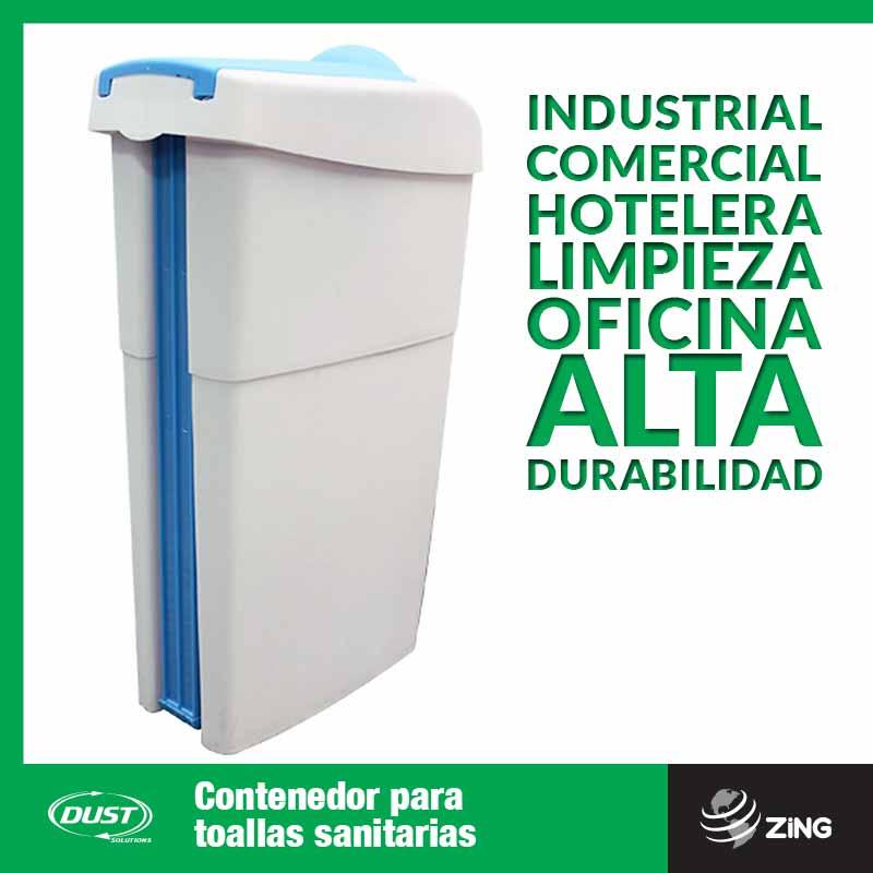 Contenedor para toallas sanitarias Dust